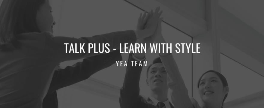 Cập nhật mới: Talk Plus – Learn with Style